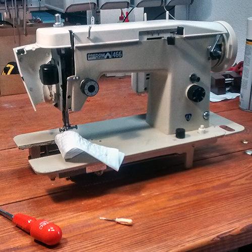 Serwis / konserwacja maszyn do szycia (starych i nowych)